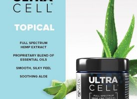 picture of ultra cell CBD oil container